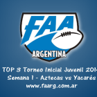 Tapa Videos Top3 Semana 1 Juvenil